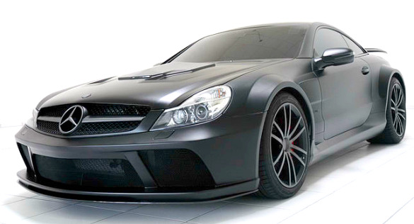 BRABUS T65 RS Vanish x Mercedes SL65 Black Series