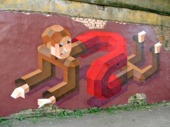 8-Bit Graffiti by Sy