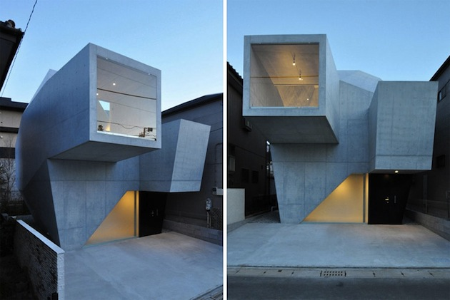 Concrete Gallery Style Home