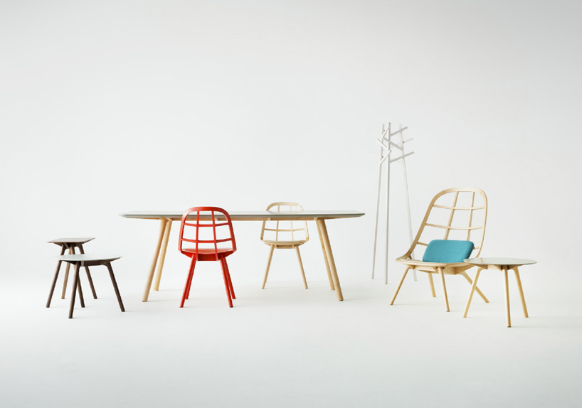 Nadia Furniture Collection by Jin Kuramoto for Matsuso-T