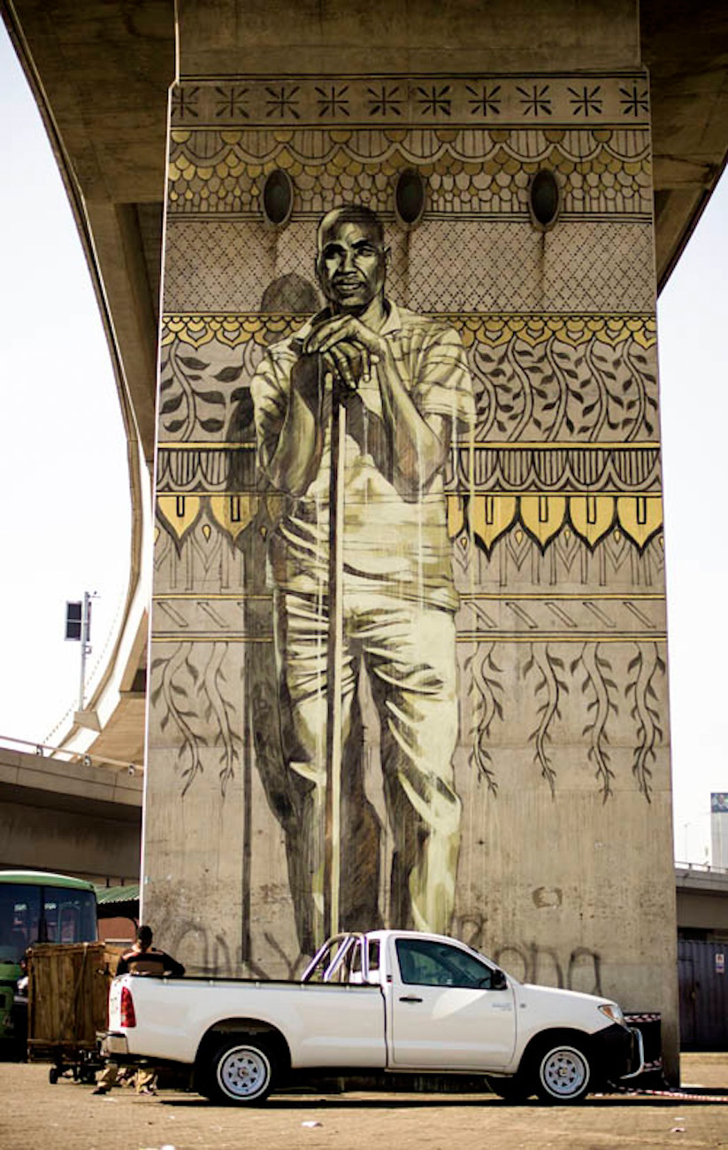 New Murals by Faith47 in Durban
