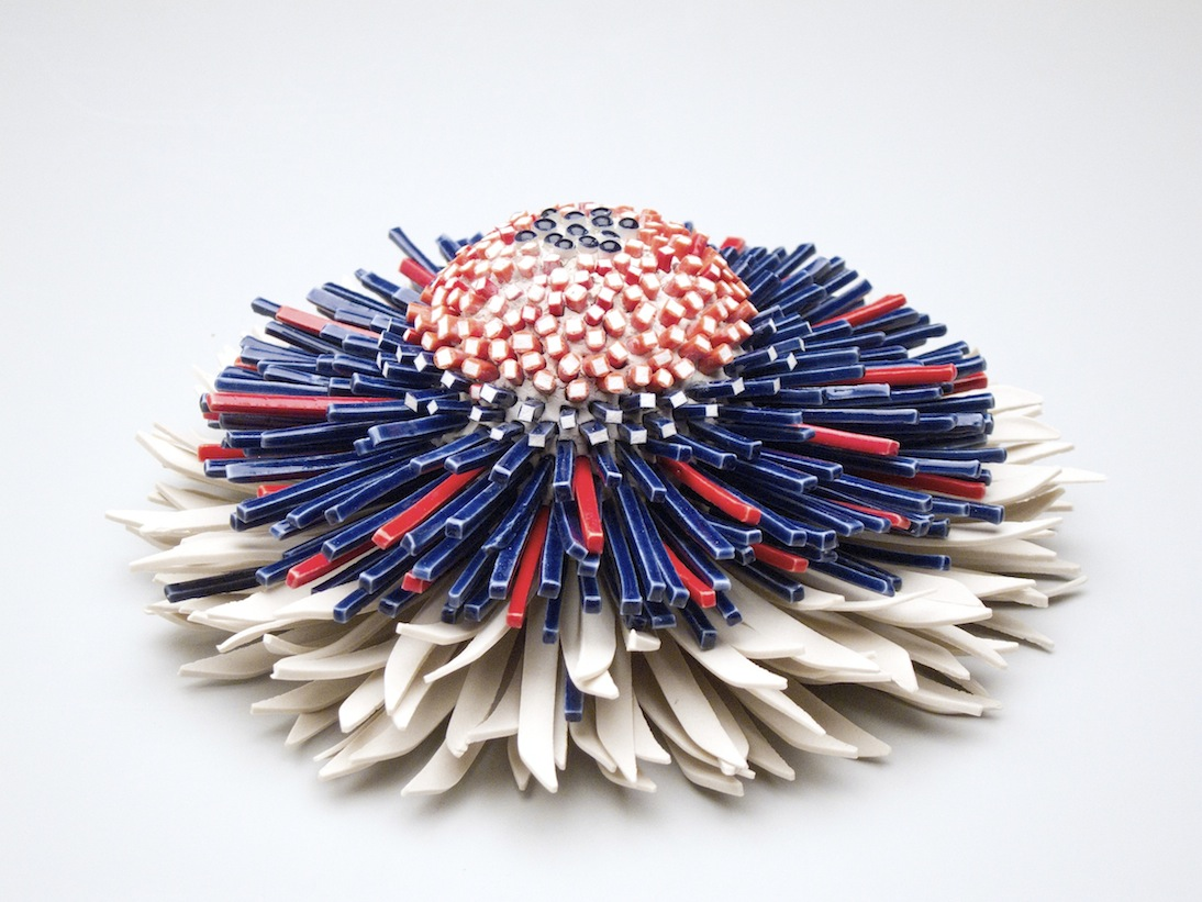 New Blooms of Ceramic Shards by Zemer Peled