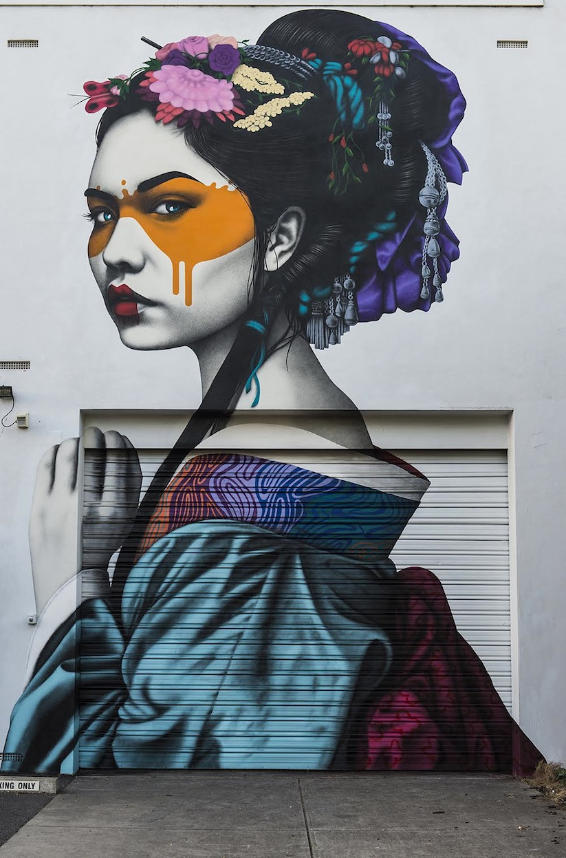New_Gorgeous_Murals_by_Street_Artist_Fin_Dac_in_Melbourne_Adelaide_Australia_2016_03