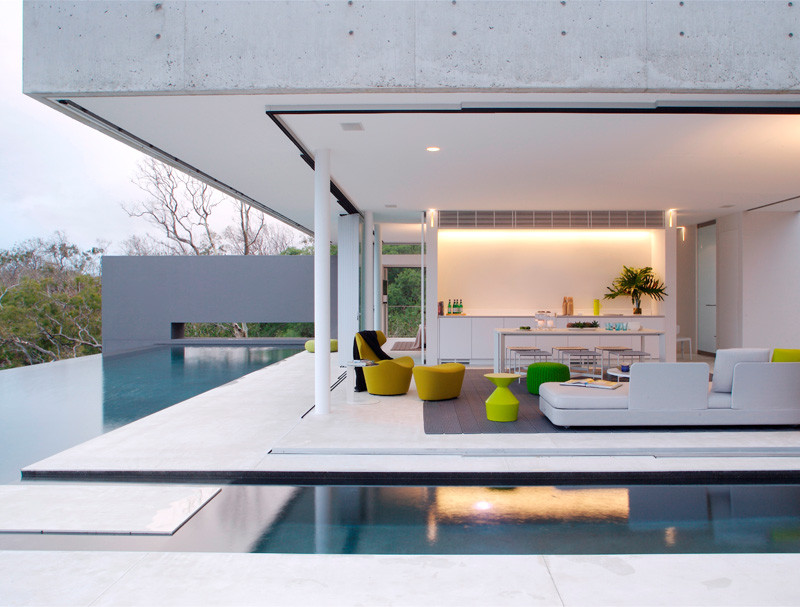 Indoor/Outdoor Living Is Everywhere At This Ocean View Home In Australia