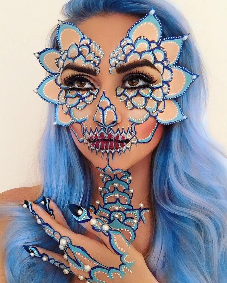 50 Beautiful Face painting Ideas from Top artists around